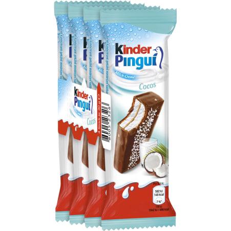 Ferrero Kinder Pingui Cocos 4er-Packung