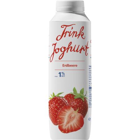 Vorarlberg Milch Vorarlberger Trinkjoghurt Erdbeer