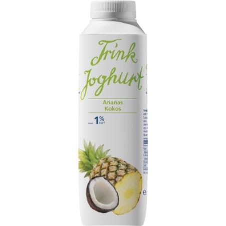 Vorarlberg Milch eGen Vorarlberger Trinkjoghurt Ananas-Kokos