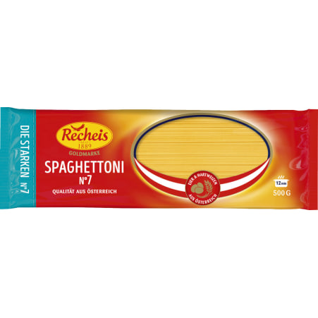 Recheis Goldmarke Spaghettoni Nr. 7