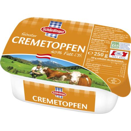Schärdinger Cremetopfen 40%