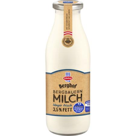 Schärdinger Berghof Milch länger frisch 3,5% Mehrweg-Flasche