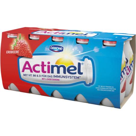 Danone Actimel Erdbeere 10er-Packung