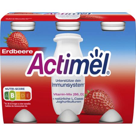 Danone Actimel Erdbeere 6er-Packung