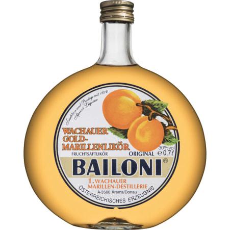 Bailoni Original Marillenlikör 30% 0,35 Liter