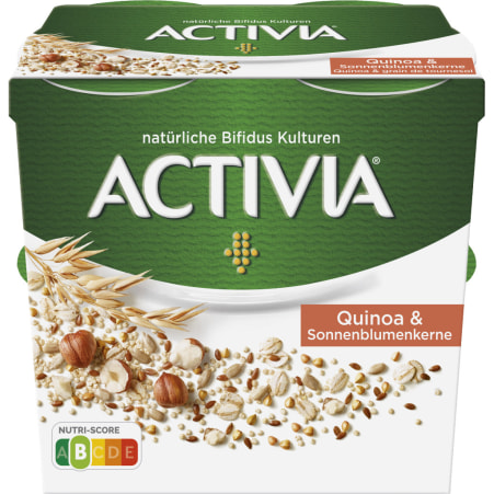 Danone Activia Quinoa & Sonnenblumenkerne