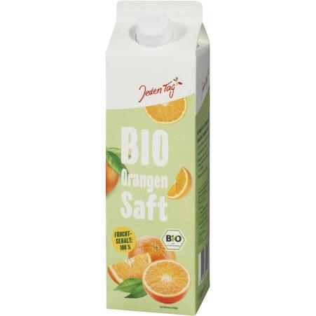Jeden Tag Bio Orangensaft 1,0 Liter