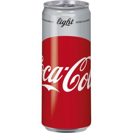 Coca-Cola Light 0,33 Liter Dose