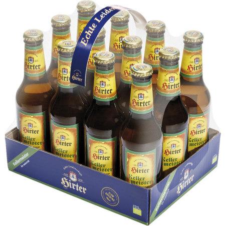 Hirter Kellermeister Tray 12x 0,33 Liter Einweg-Flasche
