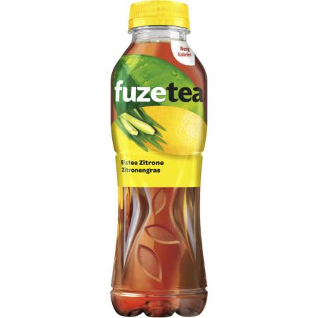 fuzetea Eistee Zitrone-Zitronengras 0,5 Liter