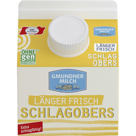 Gmundner Milch Schlagobers länger frisch 36%