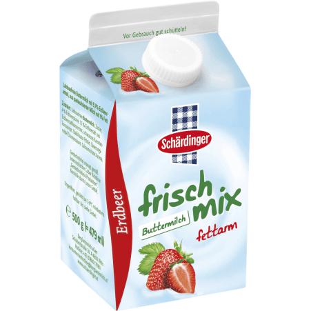 Schärdinger Frisch Mix Buttermilch Erdbeer