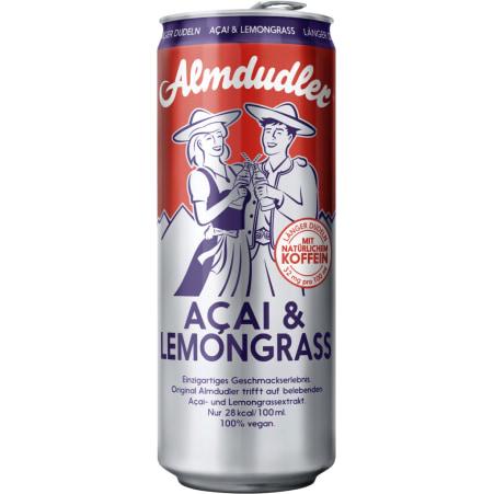 Almdudler Acai-Lemongrass 0,33 Liter Dose