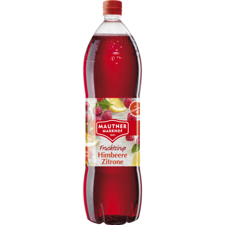MAUTNER MARKHOF Sirup Himbeer-Zitrone 1,5 Liter