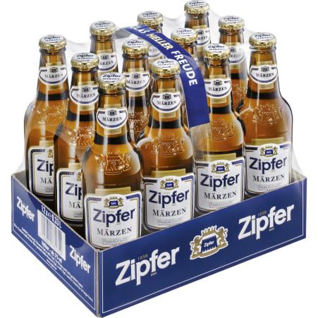 ZIPFER Märzen Tray 12x 0,33 Liter Einweg-Flasche