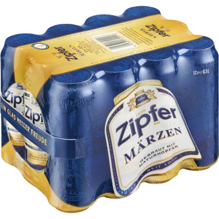 ZIPFER BIER Märzen Tray 12x 0,5 Liter Dose