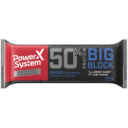 Power System Protein Big Block Bar Cocos
