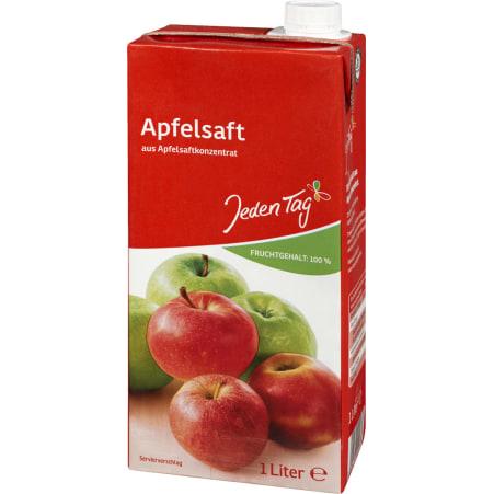 Jeden Tag Apfelsaft 100%  1,0 Liter