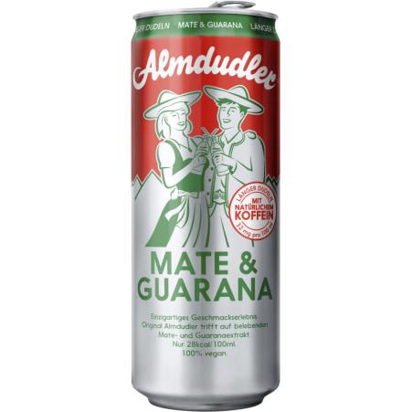Almdudler Mate-Guarana 0,33 Liter Dose