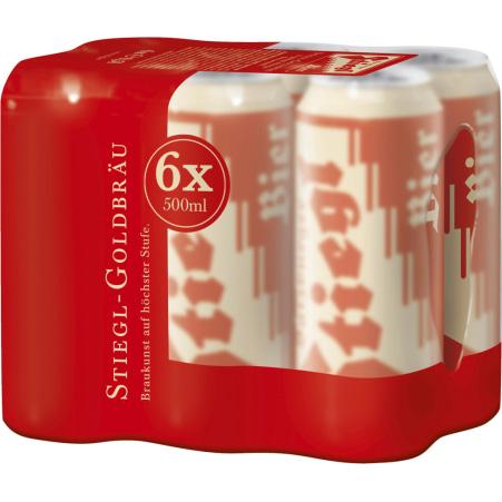 Stiegl Tray 6x 0,5 Liter Dosen
