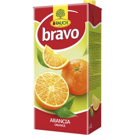 Rauch Bravo Orangen Nektar 2,0 Liter