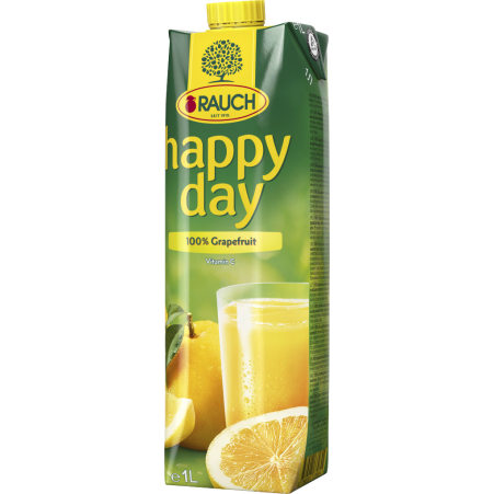 Rauch Happy Day Grapefruitsaft 100% 1,0 Liter