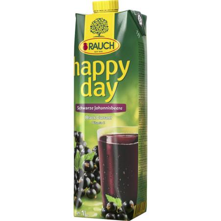 Rauch Happy Day Schwarze Johannisbeere 1,0 Liter
