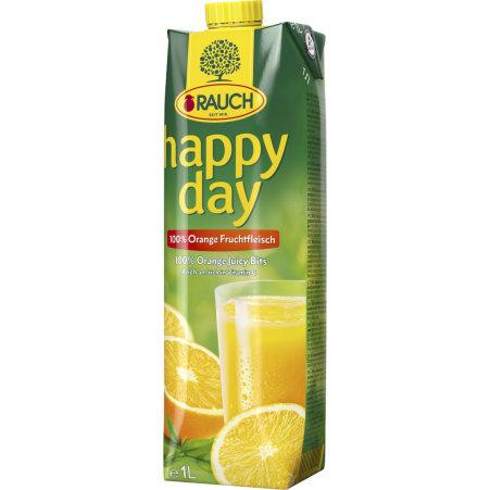 Rauch Happy Day Orange mit Fruchtfleisch 1,0 Liter