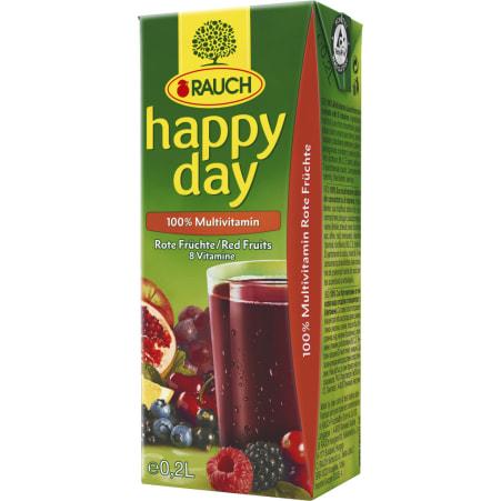 Rauch Happy Day Multivitamin rot 3x 0,2 Liter