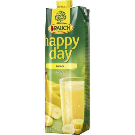 Rauch Happy Day Banane 1,0 Liter