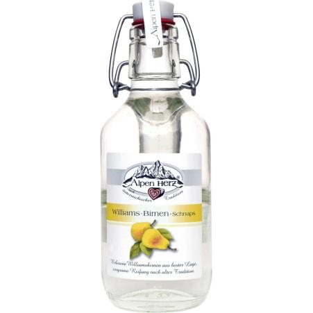 Alpenherz Williams-Birnen-Schnaps 35% 0,2 Liter
