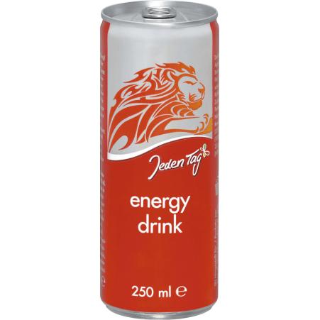 Jeden Tag Energy Drink 0,25 Liter Dose