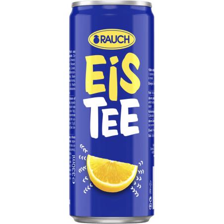 Rauch Eistee Zitrone 0,33 Liter