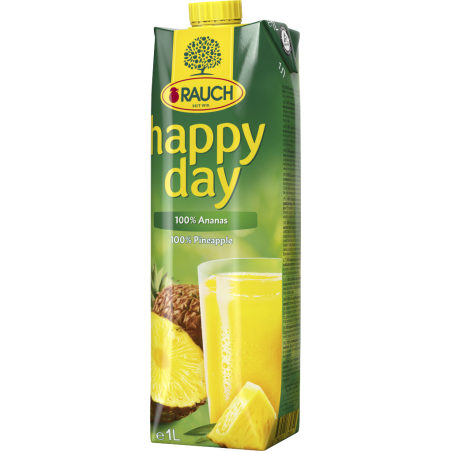 Rauch Happy Day Ananas 1,0 Liter