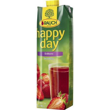 Rauch Happy Day Erdbeere 1,0 Liter