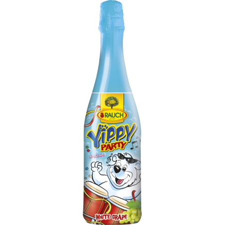 Rauch Yippy Kindersekt Party Grape 0,75 Liter