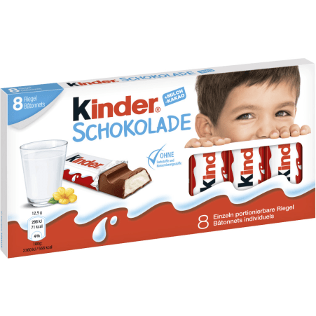 Kinder Kinder Schokolade 100 gr