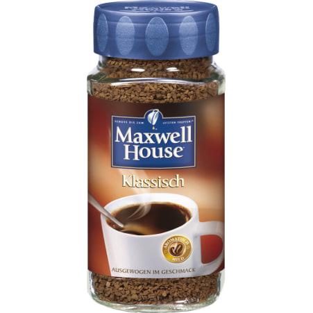 MAXWELL HOUSE Löskaffe klassisch