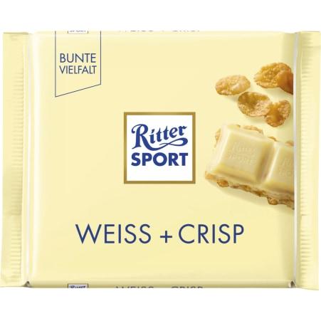 RITTER SPORT Schokolade Bunte Vielfalt Weiß-Crisp