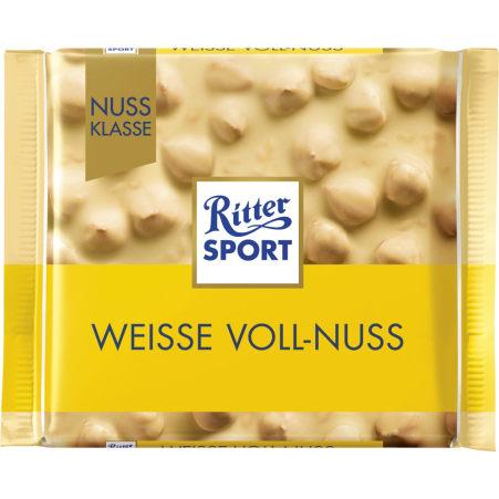 RITTER SPORT Schokolade Nussklasse Weiße Voll-Nuss