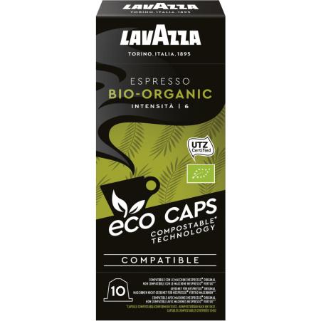 Lavazza Bio Organic Espresso 10 Eco Kapseln