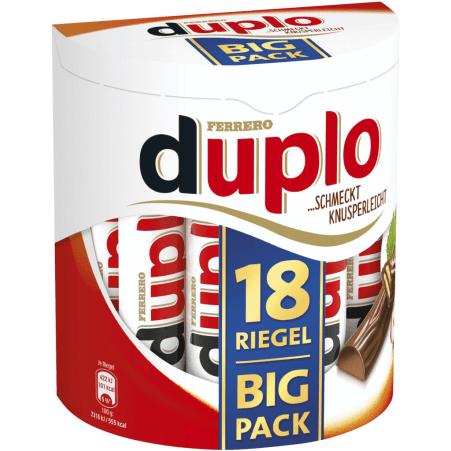 Ferrero Duplo Riegel 18er-Packung