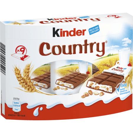 Kinder Kinder Country 9er-Packung