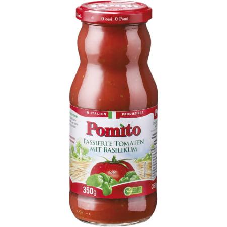 Pomito Tomaten passiert Basilikum