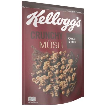 Kellogg's Crunchy Müsli Choco-Nuts