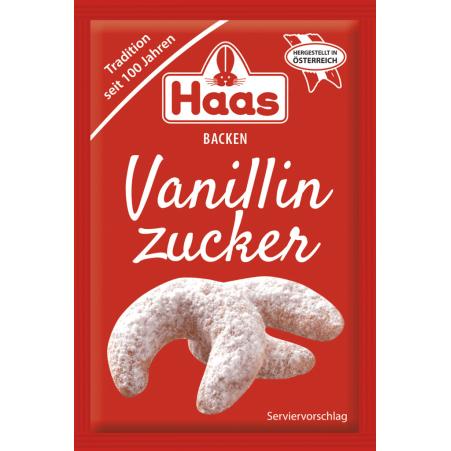 Haas Vanillezucker 5er-Packung