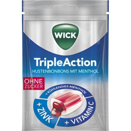 WICK Triple Action ohne Zucker