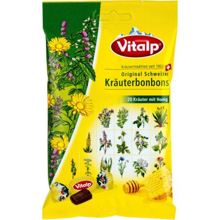 Vitalp Schweizer Kräuterbonbons mit Honig