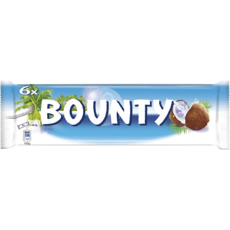BOUNTY Milch 6er-Packung