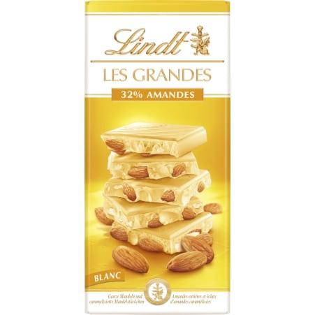 Lindt&Sprüngli Schokolade Les Grandes Weiße Mandel